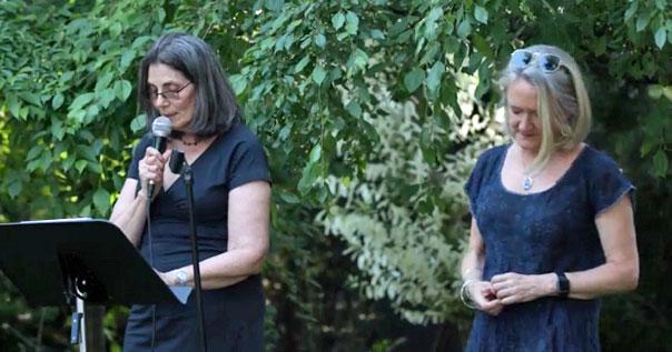 Joyce Klein and Deborah Dowd